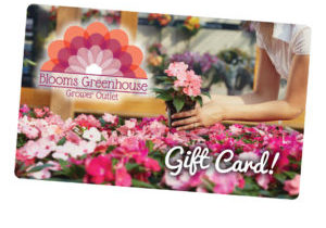 Blooms Greenhouse Gift Card